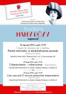 mamaroza_plakat wyklady_17 12 2013 _ ok
